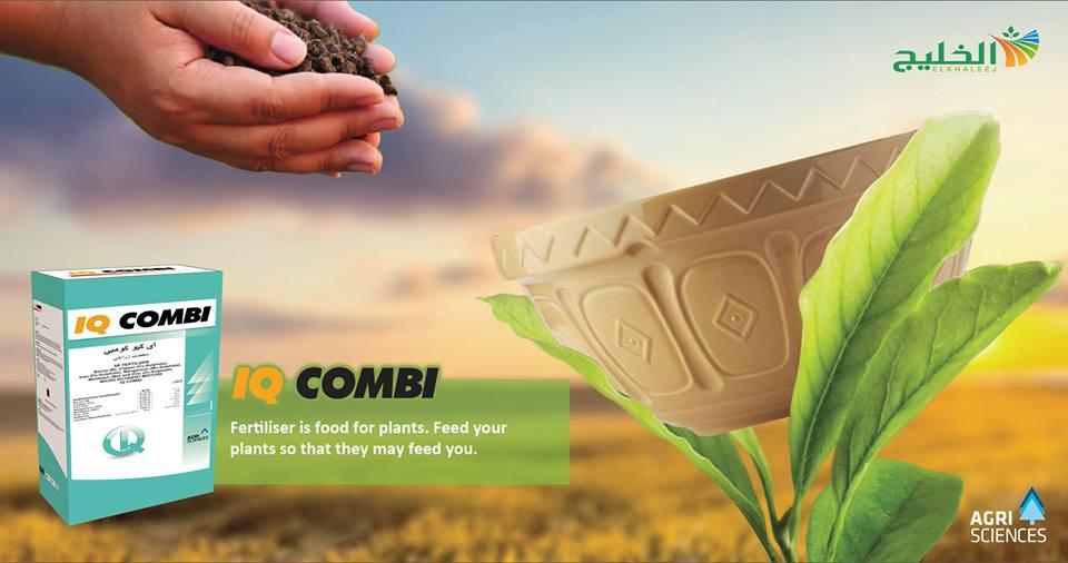 صورة شركة الخليج للتنمية الزراعية تطرح سماد إي_كيو_كومبي سريع الذوبان لعلاج نقص العناصر الصغرى