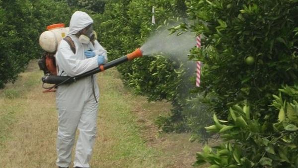 صورة ضبط  253 ألفًا و533 عبوة مبيدات مغشوشة خلال 2017