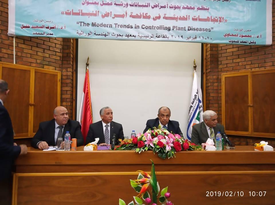 صورة الدكتور عزالدين ابوستيت: مركز البحوث الزراعية يشهد نهضة علمية وعملية على صعيد القطاع الزراعي