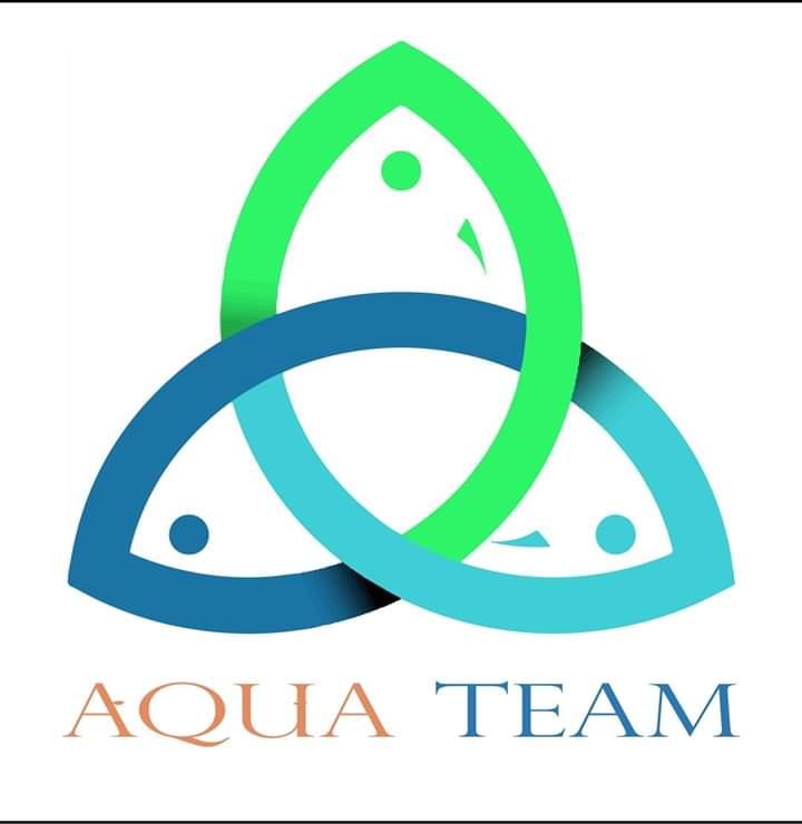 صورة فريق أكوا تيم مبادرة تهتم باحتضان مشاريع تخرج طلاب كليات الزراعة تخصص أسماك وكليات الثروة السمكية
