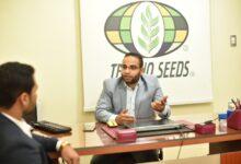 صورة المُهندس (محمود حمودة) الرئيس التنفيذي لشركةُ ( تكنو سيدز): نُراهِن على وعي المُزارِعِ المصري وخريطةِ السوقِ الزراعي تِتِغير والبقاءِ للأفضلِ